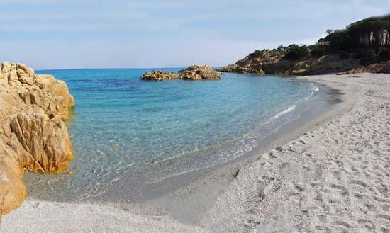 spiaggia della villa