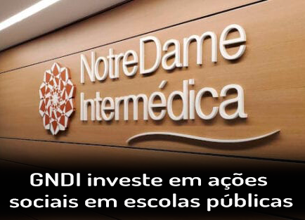 GNDI investe em ações sociais em escolas públicas