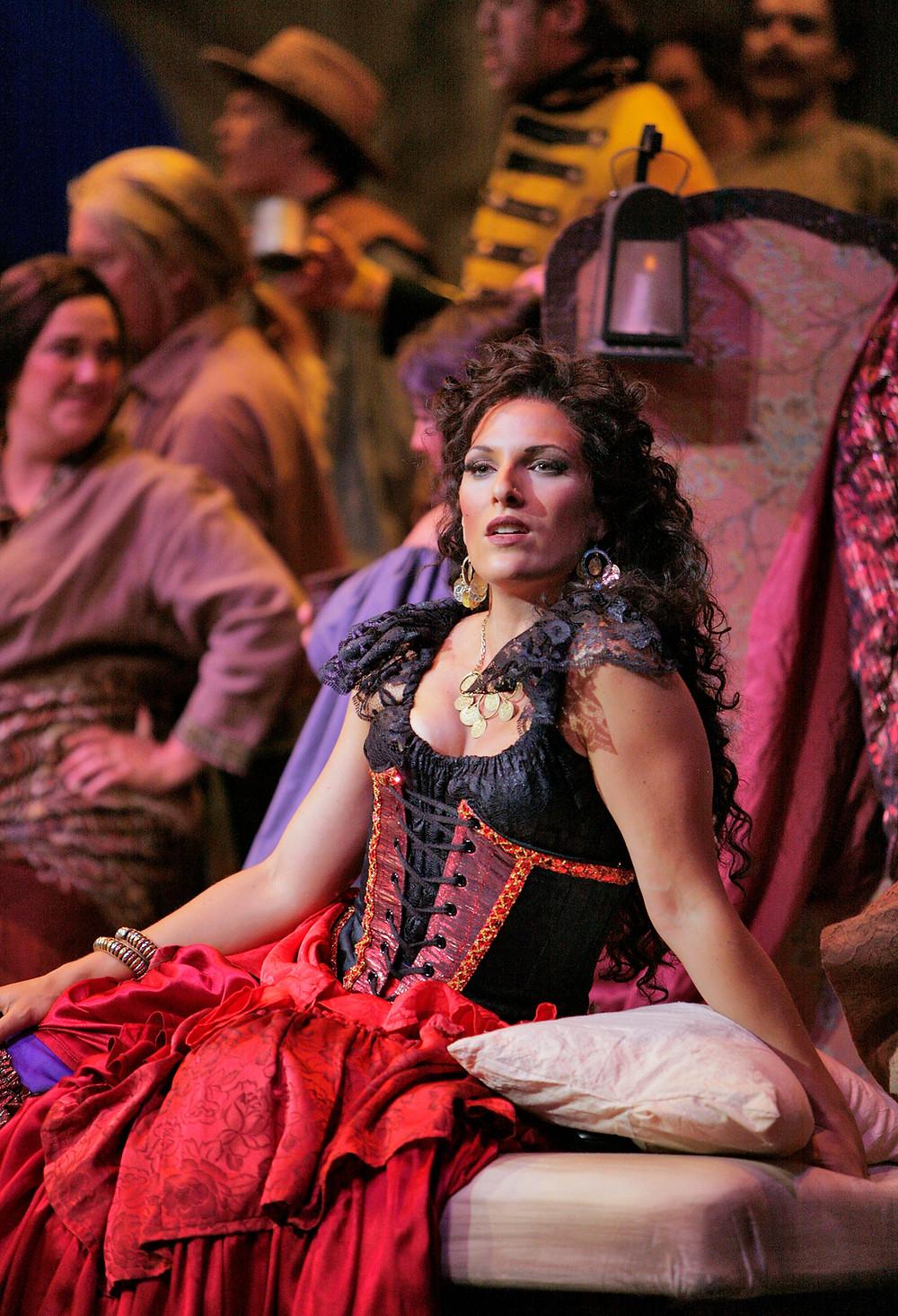 Audrey Babcock 2, Carmen, Utah Opera Festival, Photo - Cory Weaver.