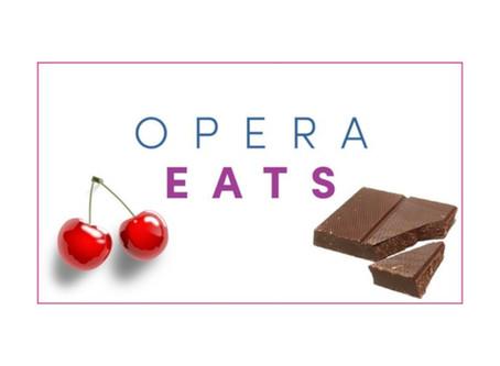 OPERA EATS: Cherry Chocolate Cake