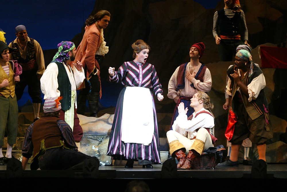 Cast and Chorus of 'Pirates of Penzance;' Photo by Ellen Appel.