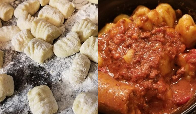 Homemade Gnocchi; photo courtesy of Christopher Curcuruto