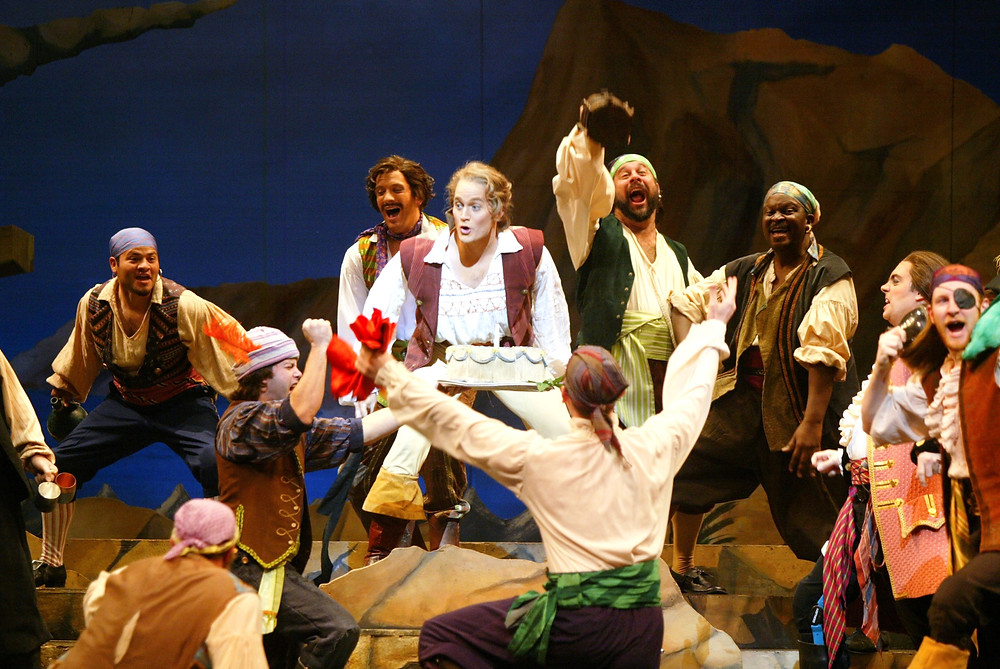 Men's Chorus of 'Pirates of Penzance;' Photo by Ellen Appel.