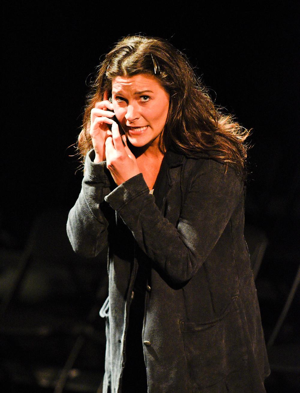 Soprano Christina Pecce as Jeffrey Schumacher's Mother in 'Voir Dire'; Karen Almond, Fort Worth Opera
