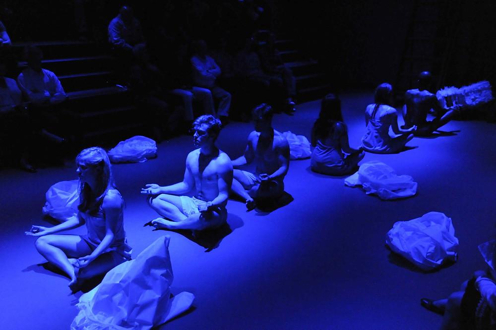 A scene from Philip Glass' 'Hydrogen Jukebox'; Photo by Ellen Appel.