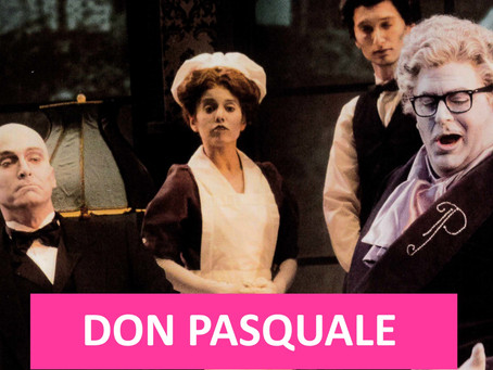 FWO Archives: Donizetti's Comedy 'Don Pasquale' with a Twist (2018 Festival & 2003 Production)