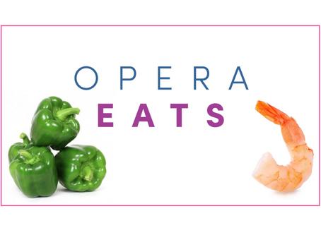 OPERA EATS: Shrimp Fajitas