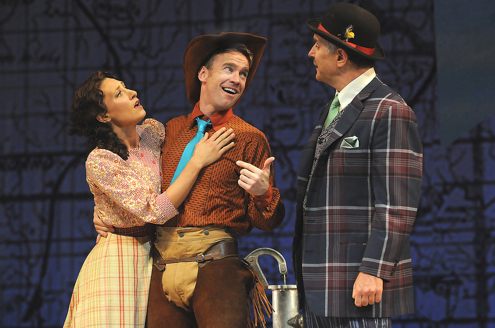 Curt Olds as Will Parker in Central City Opera's 'Oklahoma'