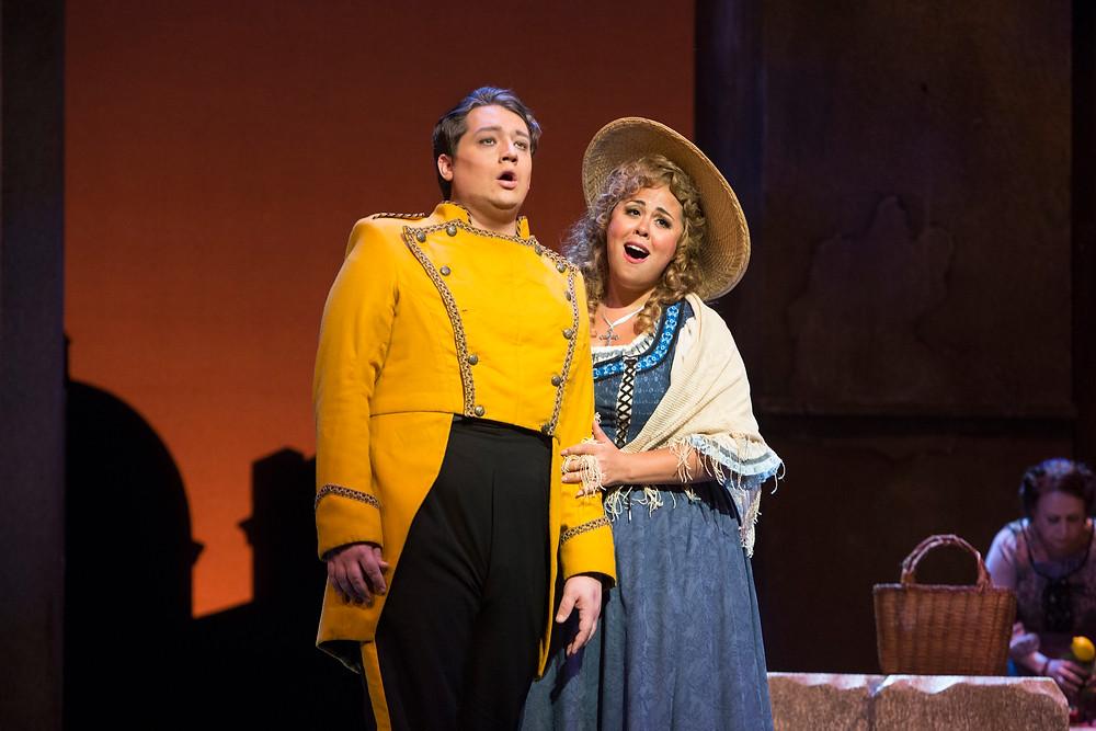 Don José (Robert Watson) and Micaëla (Kerriann Otaño) in FWO's 'Carmen'