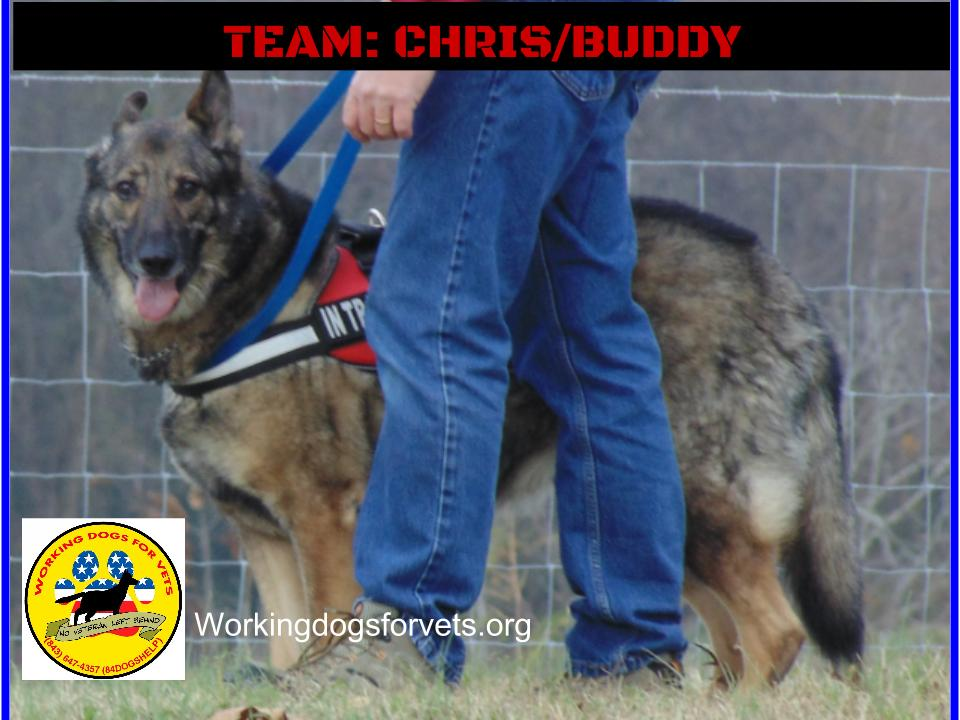 TEAM: CHRIS/BUDDY