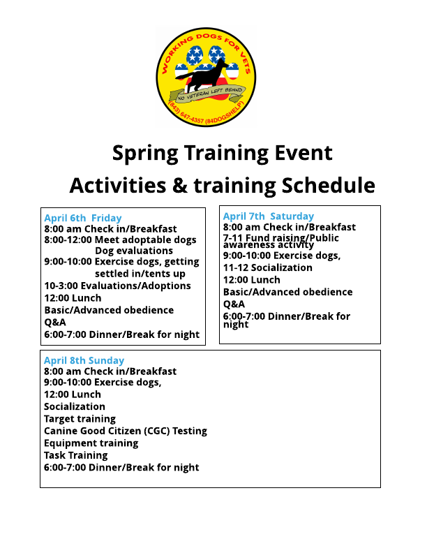 Spring 2018 | Service Dog | United States | Working dogs for