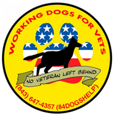 Working Dogs For Vets Logo