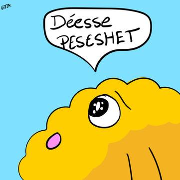 Déesse PESESHET