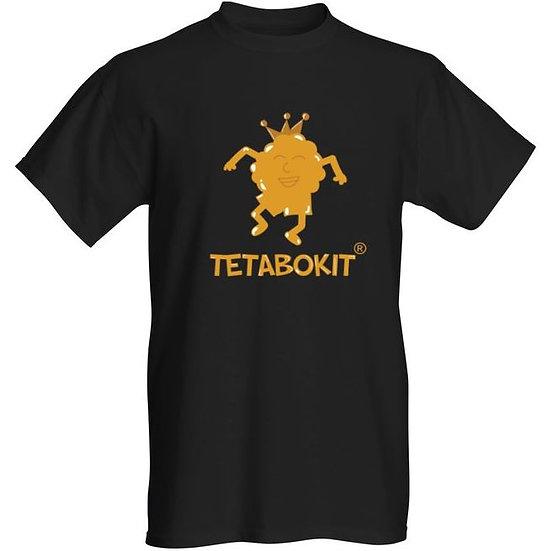 Tee-shirt noir Golden Bokit