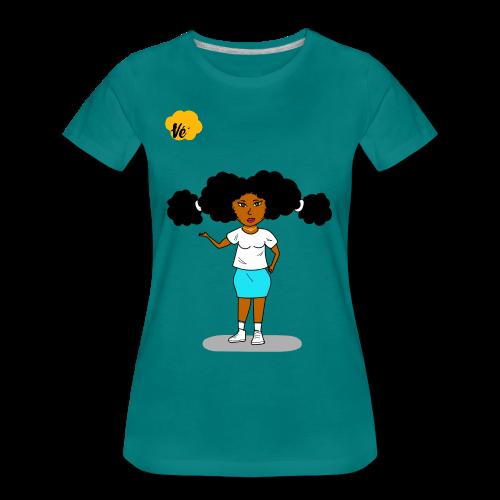 Tee-shirt femme vert Vé