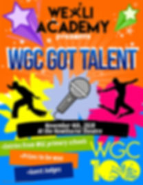 Copy of Kids Talent Flyer - Made with Po