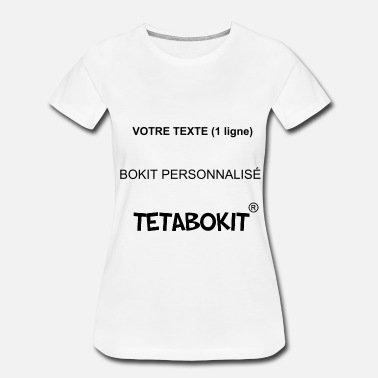 Tee-shirt femme personnalisé