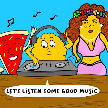 Let's listen some good Music !!