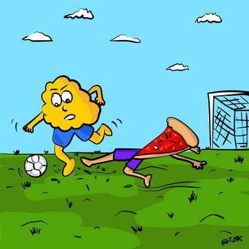 Partie de football