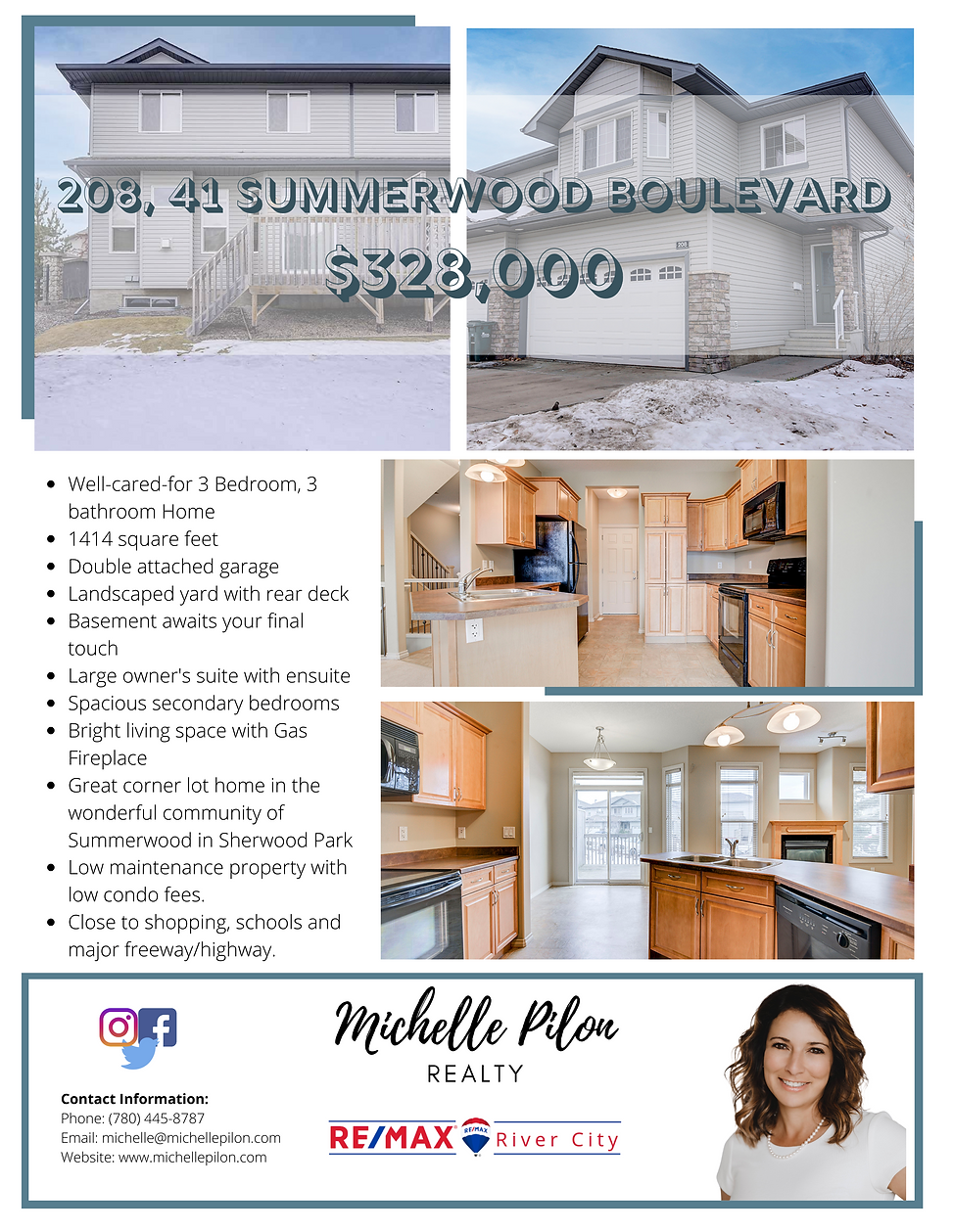 208, 41 Summerwood Boulevard Feature She