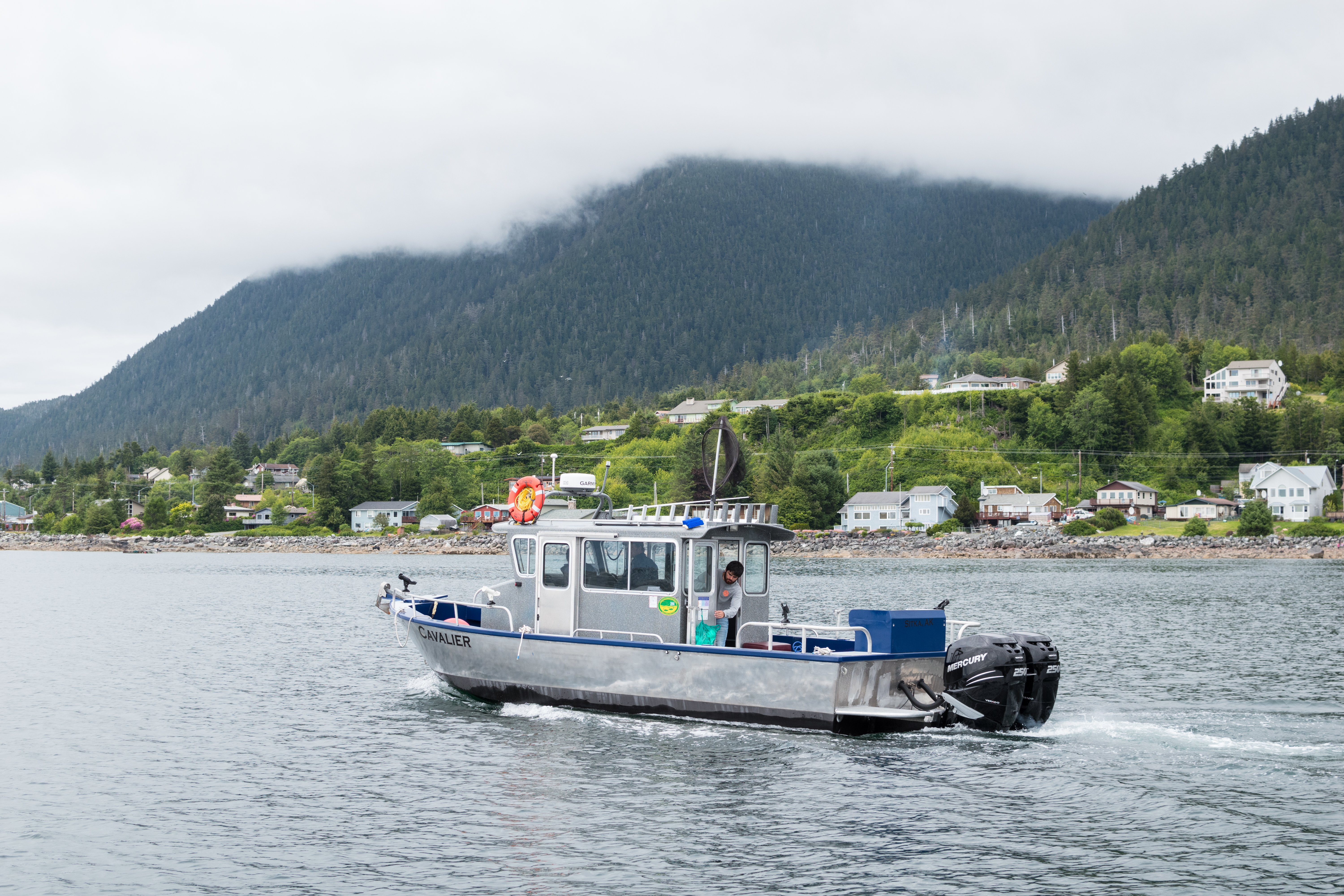 Sitka Salmon Fishing