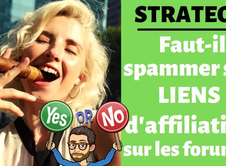 Spammer son lien d'affiliation : stratégie payante ou inutile ?