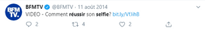tweet BFM TV