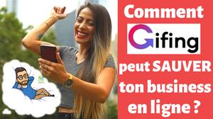 Comment Gifing peut sauver un business en ligne