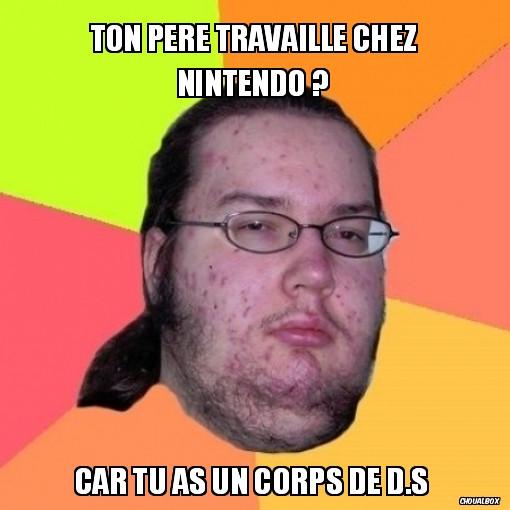 Faire un mème sur un site français