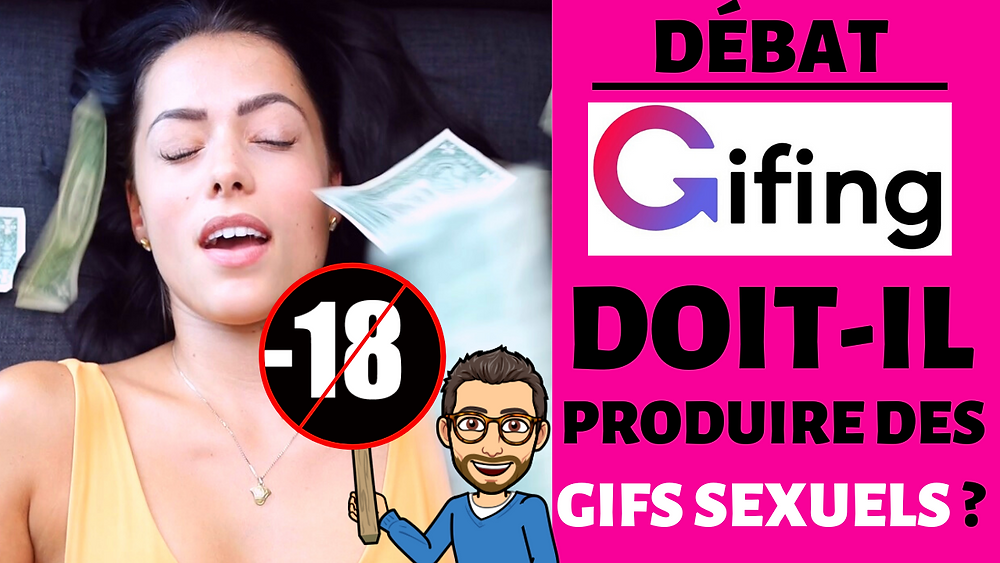 Gifs sexuels sur Gifing