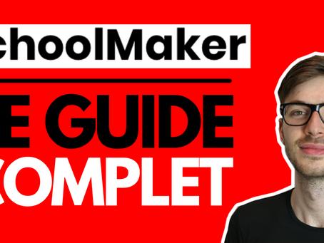 SchoolMaker : la plateforme pour formations haut de gamme
