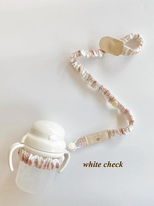 hammy -mag strap-white check