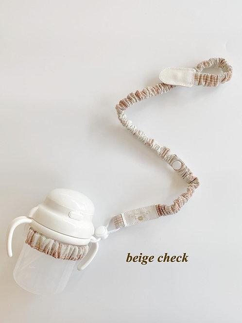 hammy -mag strap- beige check