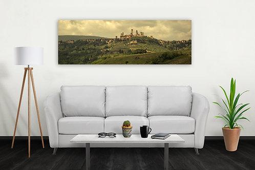 San Gimignano Oldworld Print