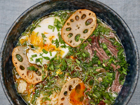 Asian Style Beef Soup