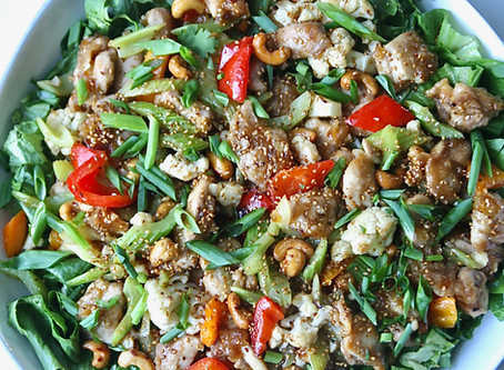 Protein-Rich Low Carb Dish