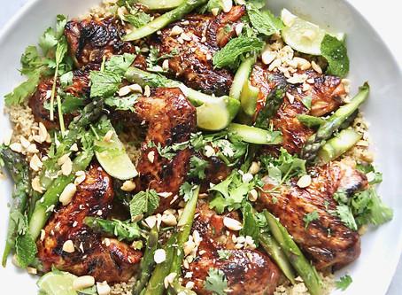 Southeast Asian Style Chicken Wings