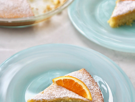 Super Easy Delicious Orange Cake
