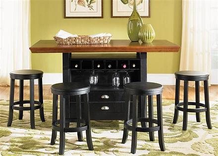 Liberty Furniture bar and bar stools