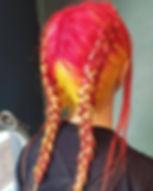 Fruity braids 🍎🍊🍋____________________
