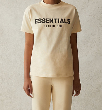 FOG - Fear Of God Kids Essentials Cream T-Shirt