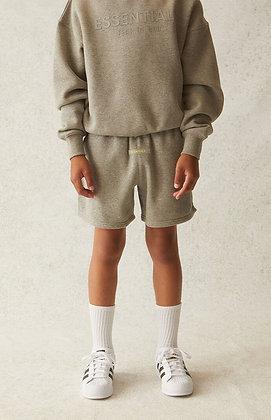 FOG - Fear Of God Kids Essentials Heather Oatmeal Sweat Shorts