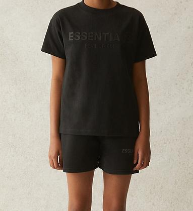 FOG - Fear Of God Kids Essentials Black T-Shirt