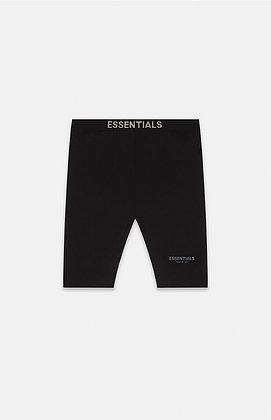 FOG - Fear Of God Essentials Black Biker Shorts