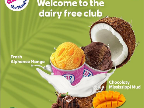 Baskin Robbins India Launches Two New Vegan Flavors of The Month
