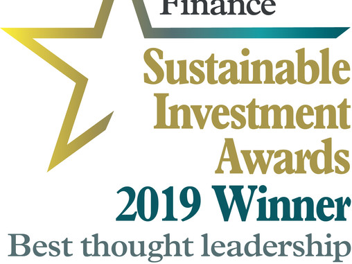 PRESS RELEASE - Sackers ESG Trustee guide awarded Best Thought Leadership Paper on Sustainable Inves