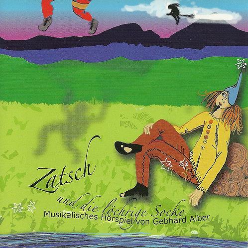 """CD """"Zatsch und die löchrige Socke"""" (2008)"""