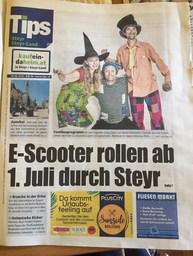 Tips Steyr, KW 26,2020, Titelblatt