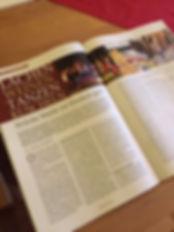 WEGE Magazin Artikel Kindermusik, 2020