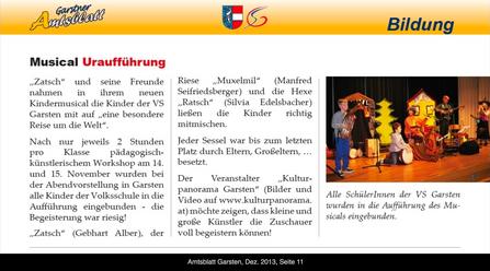 Amtsblatt Garsten, Dez. 2013, Seite 11